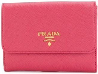 Prada trifold flap purse
