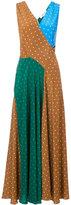 Diane von Furstenberg sleeveless polka dot dress - women - Silk - XS