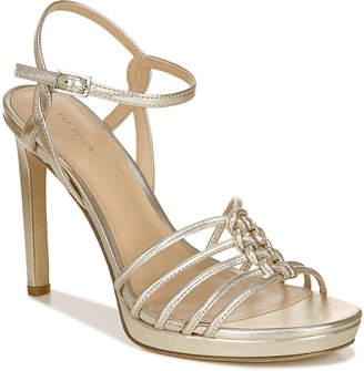 Via Spiga Malka Heeled Metallic Sandals