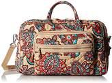 Vera Bradley Iconic Compact Weekender Travel Bag, Signature Cotton