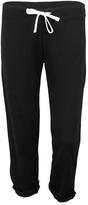 Soffe Black Crop Sweatpants