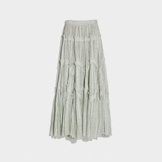 Coach Ranchero Deluxe Long Skirt