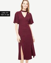 Ann Taylor Petite Choker Dress