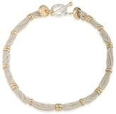 """Lauren Ralph Lauren Two-Tone Collar Necklace, 18"""""""