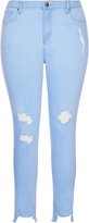 City Chic Ice Queen Skinny Harley Jean