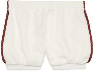 Gucci Baby jersey shorts with InterlockingG