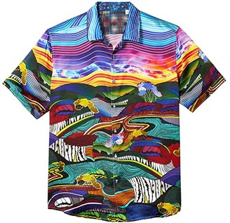 Robert Graham Sunday Drive Button-Up Shirt (Multi) Men's Clothing
