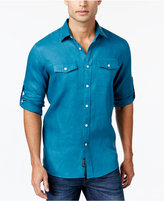 Michael Kors Men's Furlough Roll-Tab Shirt