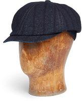 Ralph Lauren RRL Indigo-Dyed Newsboy Cap