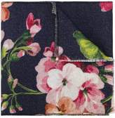 Gucci GG and Blooms print scarf