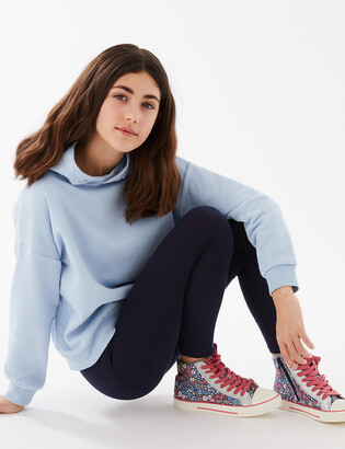 Marks and Spencer Cotton Leggings with Stretch (3-16 Years)