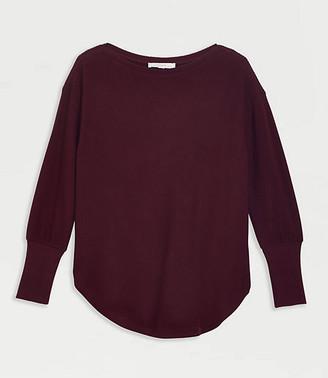 LOFT Shirttail Tunic Top