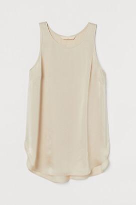 H&M Silk crepe top