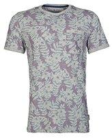Ted Baker Men's Rootz-Floral All Over Print T-Shirt-Modern Slim Fit
