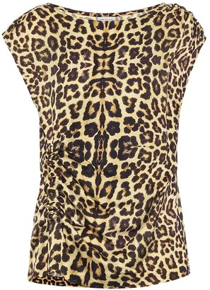 Dries Van Noten Leopard-print top