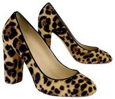 J.Crew J. Crew Collection Cheetah Print Pony Hair Pumps
