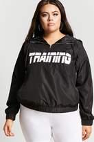 Forever 21 Plus Size Training Anorak