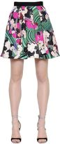 Mary Katrantzou Jewel Cloud Printed Wallpaper Skirt