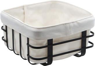 Salt&Pepper Salt & Pepper Ebony Iron Basket with Bag