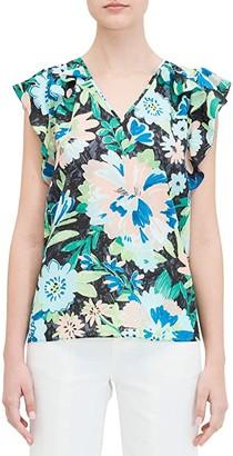 Kate Spade Full Bloom Shell (Black) Women's Clothing