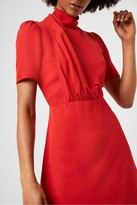 French Connection Hadiya Drape Neck Dress
