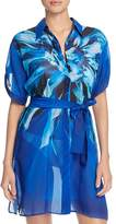 Gottex Lanai Shirt Dress Cover-Up