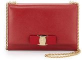 Salvatore Ferragamo Miss Vara Bow Clip Crossbody Bag, Rosso