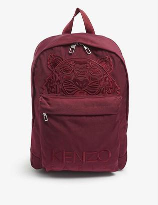 Kenzo Kampus Tiger canvas backpack