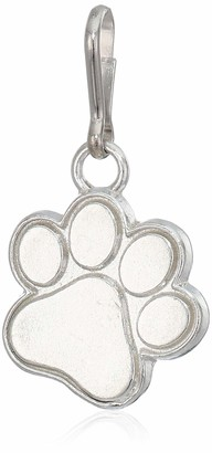 Alex and Ani Women's Paw Print Charm Sterling Silver