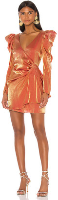 Elliatt Golden Dress