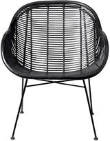 Lounge Braided Rattan Chair