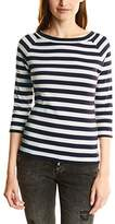Street One Women's Multicolor Stripe Shirt T-Shirt