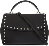 MICHAEL Michael Kors Small Ava studded leather satchel