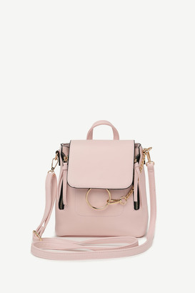 Ardene Small Faux Leather 2-Way Backpack