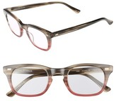 Corinne McCormack Women's 'Toni' 48Mm Reading Glasses - Purple/ Brown