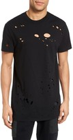 Hudson Men's Torn Crewneck T-Shirt