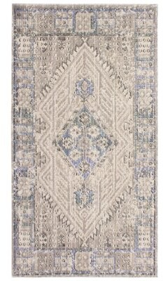 French Connection Sheelah Colorwashed Beige Area Rug Rug Size: Rectangle 2' x 3'