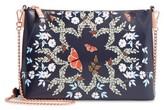 Ted Baker Marisiaa - Kyoto Gardens Leather Crossbody Bag - Blue