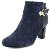 Alfani Dadine Round Toe Suede Ankle Boot.