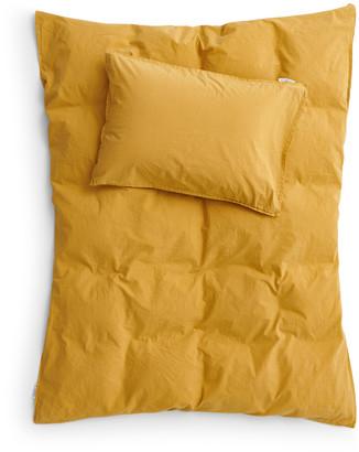 Ab Småland AB Smaland - 100 x 130 cm Mustard Gold Organic Cotton Crib Bed Cover Sheet - Organic Combed Cotton | 100x130cm | organic cotton | mustard yellow - Mustard yellow