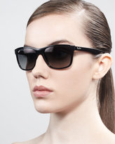 Ray-Ban Logo-Temple Square Sunglasses