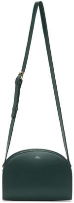 A.P.C. Green Demi-Lune Bag