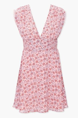 Forever 21 California Poppy Mini Dress