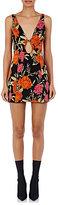 Balenciaga Women's Floral Compact Knit Stretch-Cotton Minidress