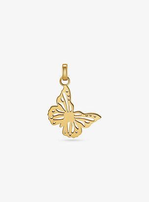 Michael Kors 14K Gold-Plated Sterling Silver Oversized Butterfly Charm