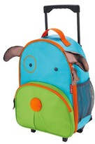 Skip Hop Zoo Little Kids & Toddler Rolling Travel Luggage, Dog