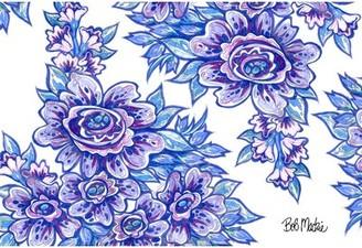 Bob Mackie Blue/Purple Rug