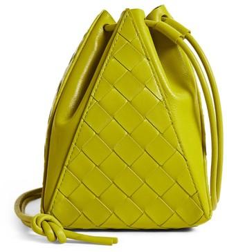 Bottega Veneta Leather Intrecciato Shoulder Bag