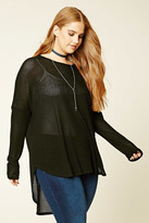 Forever 21 FOREVER 21+ Plus Size High-Low Top