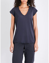 James Perse V-neck cotton-jersey T-shirt